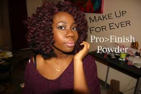 review make up for ever pro finish powder foundation