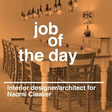 Senior Interior Designer Jobs In Mumbai Job Of The Day Senior Interior Designer Architect For Naomi