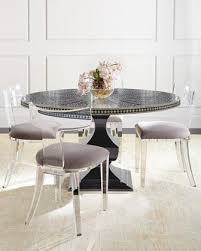 acrylic furniture australia. Vivian Black Inlay Dining Table And Nessy Clear Acrylic Chair Throughout Chairs Plan 2 Furniture Australia