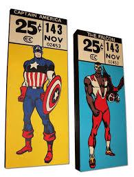 marvel comics corner bo as pop art