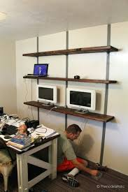 office wall mounted shelving. office wall mounted shelving units easy rustic shelves home organization and design ideas . f