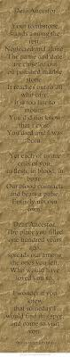 Tombstone Quotes Gorgeous Dear Ancestor Your Tombstone Stands Among The Rest Neglected And