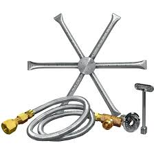 outdoor fire pit burners inch burning spur propane gas fire pit burner kit without pan match