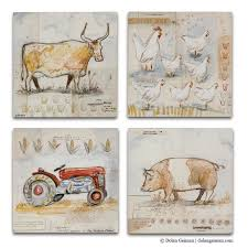 wall art ideas design french classical country kitchen wall art farms pig chicken bull urban tractor four separated panels rustic traditional country  on country style kitchen wall art with wall art ideas design french classical country kitchen wall art