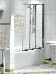 three panel sliding shower three piece shower door cleaning shower doors