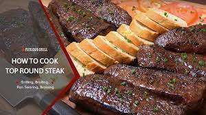 how to cook top round steak broiled