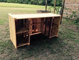 diy wooden pallet desk