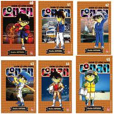 Combo Sách Thám Tử Lừng Danh Conan (Tập 40 - 45)
