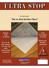 image 1 8x11 rug pad ultra stop non slip flat 8x11 rug pad n