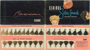 54 Clairol Professional Hair Color Chart