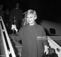 Italian actress Giulietta Masina arriving at Ciampino airport from... News  Photo - Getty Images