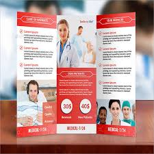 Medical Brochure Template Simple Medical Brochure Design Physicia Hearing Solutions Healthcare