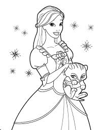 Cute Princess Coloring Pages Princess Cat Coloring Pages Cute Cute