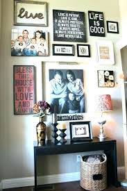 wall display ideas picture family photo canvas cr