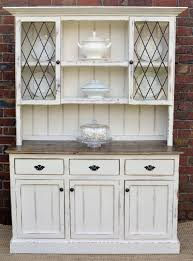 ... Country Farmhouse French Provincial Buffet AND Hutch Sideboard Dresser  White Rustic Buffet Sideboard ...