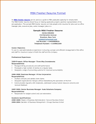 Beautiful Mba Finance Fresher Resume Format Lovely 53 Lovely Resume