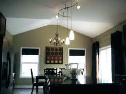 pendant adapter track lighting architectural black linear pendant