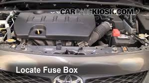 replace a fuse 2009 2013 toyota corolla 2010 toyota corolla s replace a fuse 2009 2013 toyota corolla 2010 toyota corolla s 1 8l 4 cyl