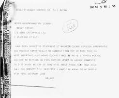 Mr Brian Epstein — August 5, 1966 telegram from Brian Epstein to...