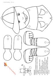 Pupazzo Bambino Da Colorare Stampa Disegna E Crea Con Filastroccheit