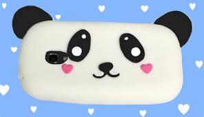 how to make a silicone phone case panda kawaii easy diy crafts