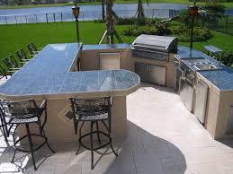 Kitchen Comfort Cooking In Modern Outdoor Kitchen Design Combined - Modern outdoor kitchens