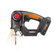 jig saw. image is loading wx550l-worx-20v-axis-cordless-reciprocating-amp-jig- jig saw u