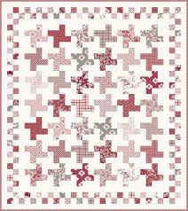 Hopscotch Pattern Interesting Hopscotch Quilt Pattern PSD48P Planted Seed Designs