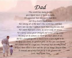 best dad poems ideas funeral poems poems for dad my hero personalized poem memory birthday father s day gift for bull 7 95 bull see