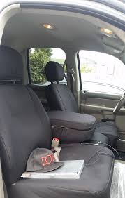 2004 dodge ram 1500 front black cordura seat covers cordura is our most durable seat cover and is a personal favorite of general contractors