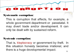 ppt on economic costs of corruption 11 12