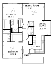 Small 2 Bedroom Apartment 2 Bedroom Apartment Plans