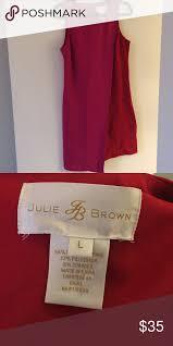 Jb Julie Brown Size Chart Julie Brown Dress Pink And Red Color Block Dress Worn Once
