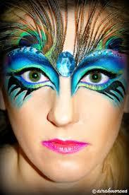 pea face paint makeup