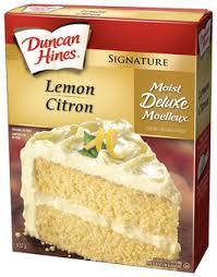 Product Lemon Cake Mix Duncan Hines Canada
