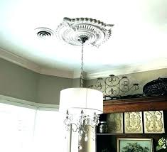 ceiling medallion installation ideas chandelier medallions for chandeliers decora