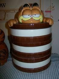 Garfield Cookie Jar Awesome Garfield Cookie Jar Made In Korea By Enesco Garfield Cookie Jars