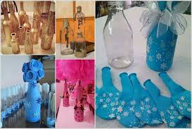 Ways To Decorate Glass Jars Cool Ways To Decorate Glass Bottles 21