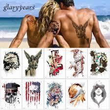 14821 см Glaryyears 24 дизайна 1 лист цветок рука татуировка тела