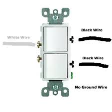 wiring a double switch diagram 2 and 3 wire double switch wiring 3 way combination switch at 3 Way Double Switch Wiring Diagram