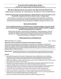 Human Resources Resume | Pinterest | Resume Examples, Sample Resume ...