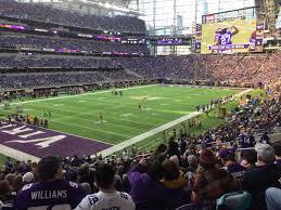 Us Bank Stadium Seating Chart Views And Reviews Minnesota