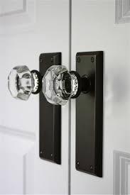 best glass door knobs