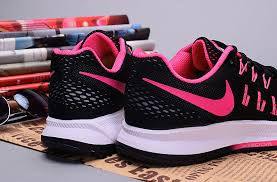 nike running shoes for girls black and white. girls-nike-zoom-pegasus-33-black-pink-running- nike running shoes for girls black and white l