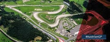 austria view red bull. Bird View Of Red Bull Ring Circuit For Austrian GP Austria -