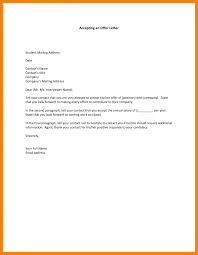 Sample Letter Negotiating Salary In A Job Offer Simple Accepting A Job Offer Letter Via Email Sample Example