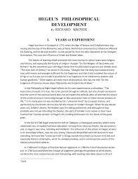 hegel s philosophical development kroner richard pdf docdroid