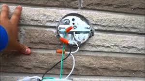 how to change an outdoor light fixture by yourself you