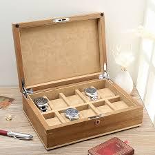 get ations lowe american black walnut wood pure solid wood storage box wooden watch box watch box chain