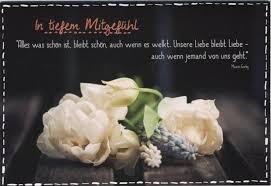 Trauerkarte Text Beileidskarte Beileidsspruch In Tiefem Mitgefühl